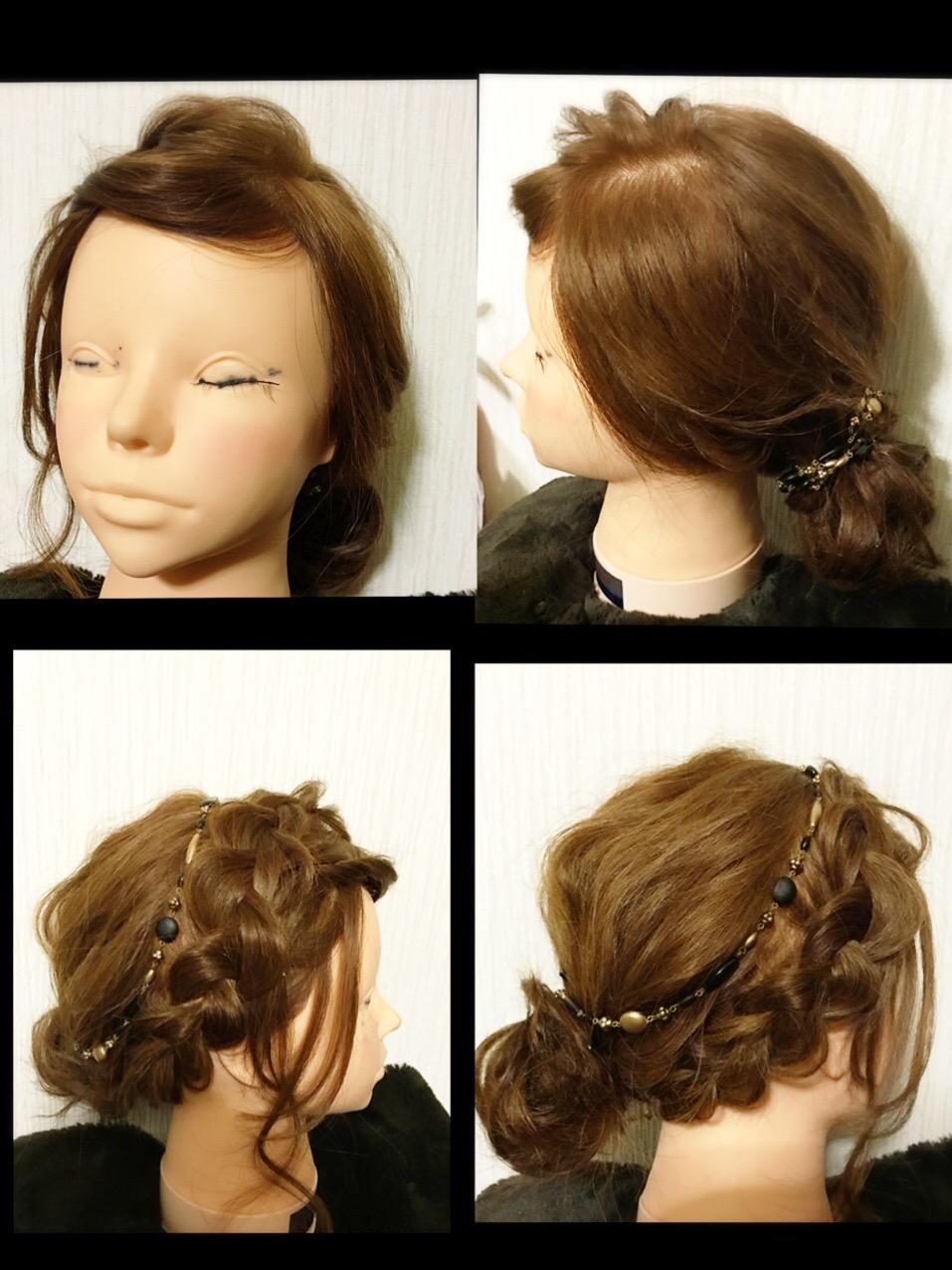 結婚式にも使えるヘアアレンジ♥.。.:*♡